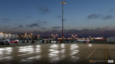 EGPH Edinburgh Airport - X-Plane 11 screenshot
