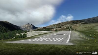 LFLJ Courchevel Airport - X-Plane 11 screenshot
