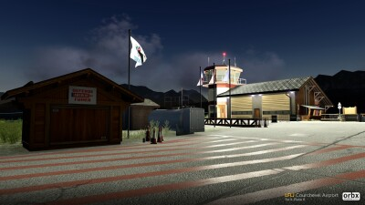 LFLJ Courchevel Airport - X-Plane 11 screenshot