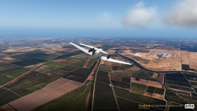 TrueEarth US Northern California HD - X-Plane 11 screenshot