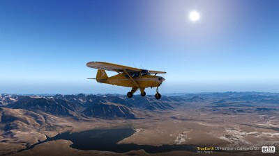 TrueEarth US Northern California SD - X-Plane 11 screenshot