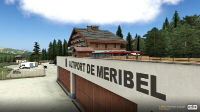 LFKX Meribel Airport - X-Plane 11 screenshot