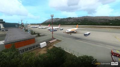 LDDU Dubrovnik Airport screenshot