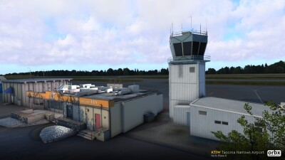 KTIW Tacoma Narrows Airport - X-Plane 11 screenshot
