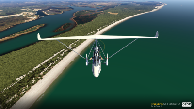 TrueEarth US Florida HD - X-Plane 11 screenshot
