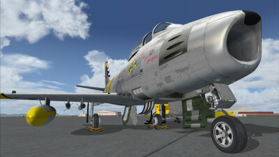 Milviz F-86F Sabre screenshot