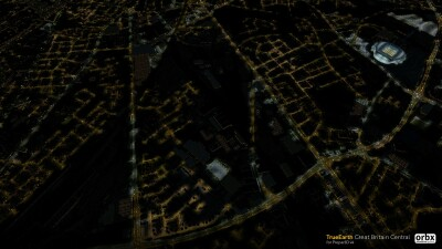 TrueEarth Great Britain Central screenshot