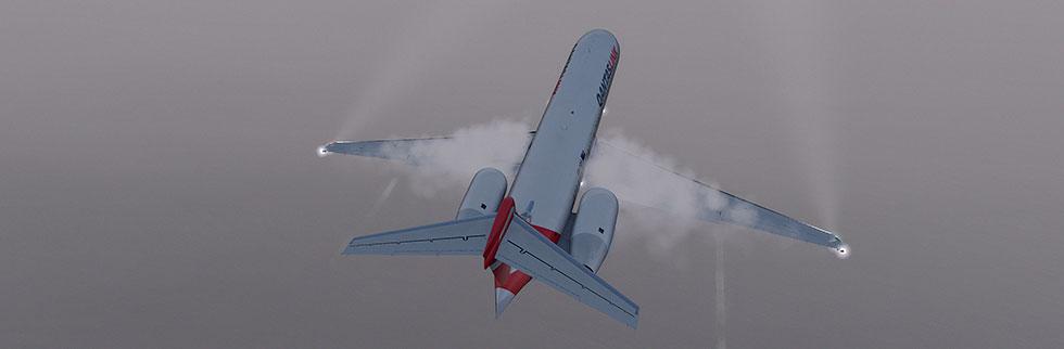 Wing condensation