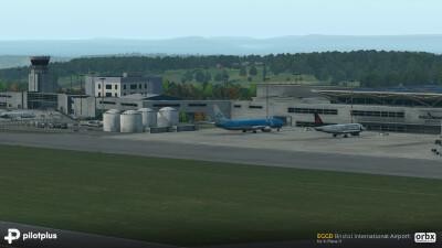EGGD Bristol International Airport screenshot