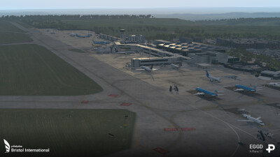 EGGD Bristol International Airport - X-Plane 11 screenshot