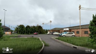 EGTB Wycombe Air Park - X-Plane 11 screenshot