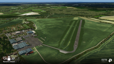 EGTB Wycombe Air Park - X-Plane 11 screenshot