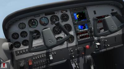 A2A C172 (P3D Academic) screenshot