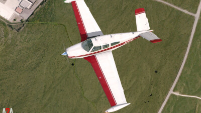 A2A Bonanza (P3D Academic) screenshot