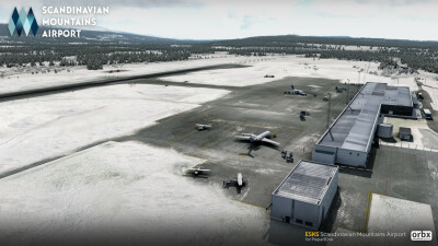 ESKS Scandinavian Mountains Airport screenshot