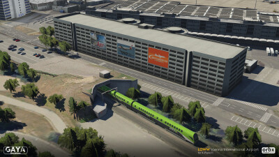 LOWW Vienna International Airport - X-Plane 11 screenshot