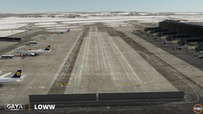 LOWW Vienna International Airport screenshot