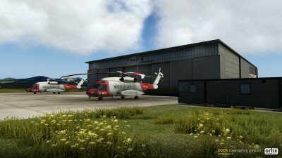 EGCK Caernarfon Airport - X-Plane 11 screenshot