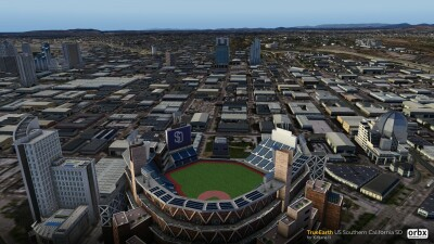 TrueEarth US Southern California SD - X-Plane 11 screenshot
