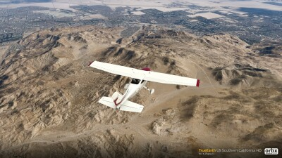 TrueEarth US Southern California HD - X-Plane 11 screenshot
