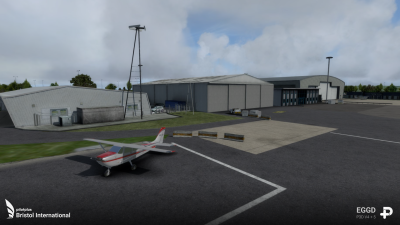 EGGD Bristol International Airport screenshot