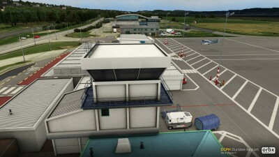 EGPN Dundee Airport - X-Plane 11 screenshot