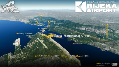 LDRI Rijeka Airport screenshot