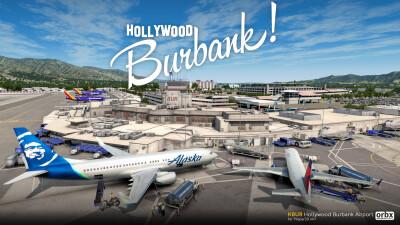 KBUR Hollywood Burbank Airport screenshot
