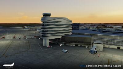 CYEG Edmonton International Airport screenshot