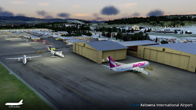 CYLW Kelowna International Airport screenshot