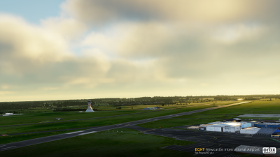 EGNT Newcastle International Airport screenshot