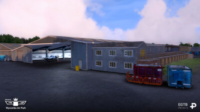 EGTB Wycombe Air Park screenshot