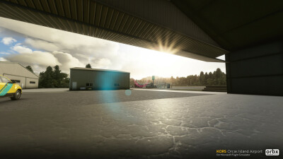 KORS Orcas Island Airport - Microsoft Flight Simulator screenshot