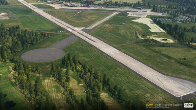 EGNM Leeds Bradford Airport - Microsoft Flight Simulator screenshot