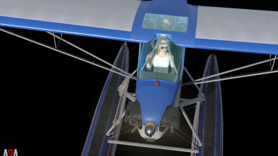 A2A J-3 Cub (P3D Academic) screenshot