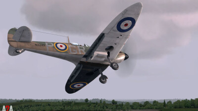 A2A Spitfire MkI-II (P3D Academic) screenshot