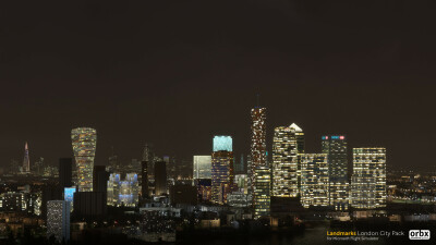 Landmarks London City Pack - Microsoft Flight Simulator screenshot