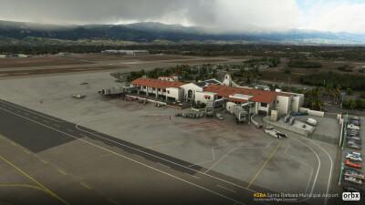 KSBA Santa Barbara Municipal Airport - Microsoft Flight Simulator screenshot