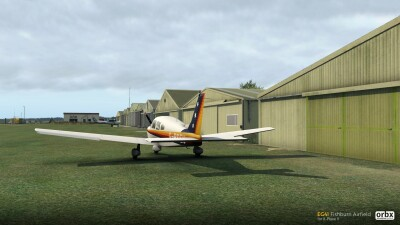 EG41 Fishburn Airfield - X-Plane 11 screenshot