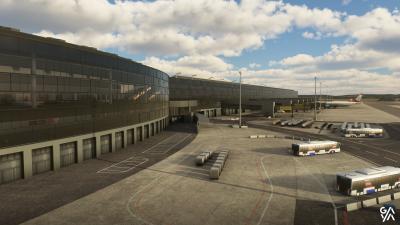 LOWW Vienna International Airport - Microsoft Flight Simulator screenshot