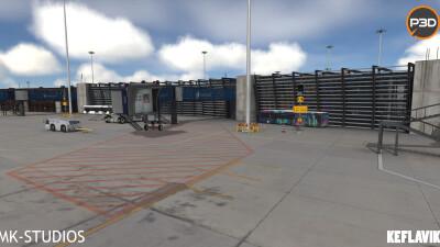 BIKF Keflavik Airport screenshot