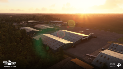 EGTB Wycombe Air Park - Microsoft Flight Simulator screenshot