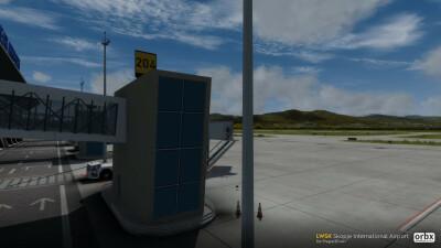 LWSK Skopje International Airport screenshot