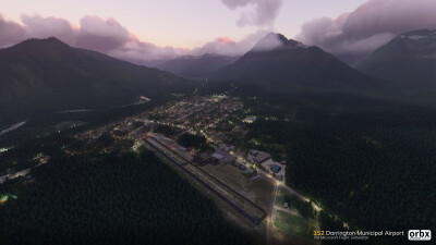1S2 Darrington Municipal Airport - Microsoft Flight Simulator screenshot