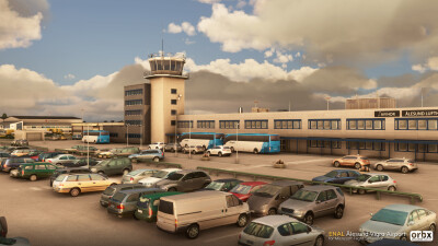 ENAL Alesund Vigra Airport - Microsoft Flight Simulator screenshot