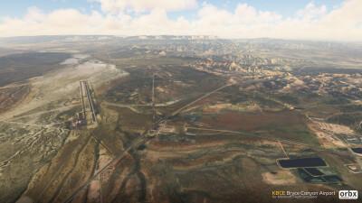 KBCE Bryce Canyon Airport - Microsoft Flight Simulator screenshot