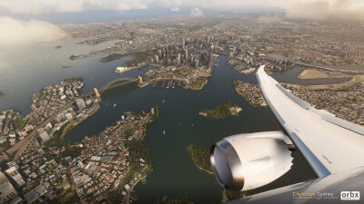 Cityscape Sydney - Microsoft Flight Simulator screenshot