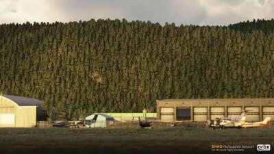 ENNO Notodden Airport - Microsoft Flight Simulator screenshot