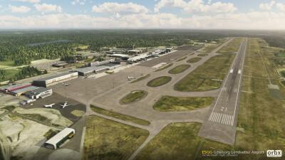 ESGG Gothenburg Landvetter Airport - Microsoft Flight Simulator screenshot