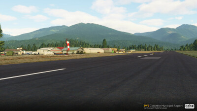 3W5 Concrete Municipal Airport - Microsoft Flight Simulator screenshot